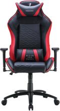 Zone Balance Gaming Chair Red Krzes?o gamingowe - Czarno-czerwony - Skóra PU - Do 120 kg