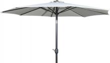 Alu parasol med tilt - Ø 3 meter - Beige