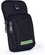 Men Women Waterproof Oxford Cell Mobile Phone Case Cover Small Messenger Bag Hook Armband Male Belt Purse Fanny Bags Waist Pack