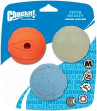 Chuckit Apportleksaker 3-pack M
