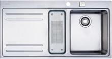 Franke Mythos MTX 251 Rustfri stål køkkenvask