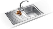 Franke Ascona ASX 611-86 Rustfrit stål køkkenvask