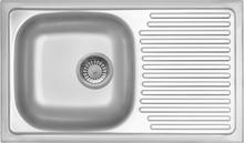Deante Legato ZEL 0113 rustfrit stål køkkenvask