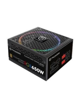 ToughPower Grand RGB 650W Gold Strømforsyning - 650 Watt - 140 mm - 80 Plus Gold certified