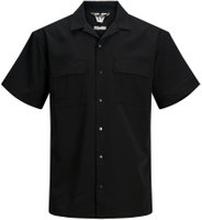 JACK & JONES Hantverkarinspirerad Kortärmad Skjorta Man Svart
