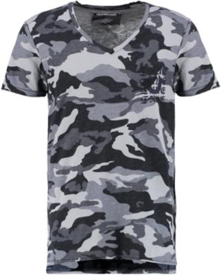 True Religion CAMO Tshirt med tryck black