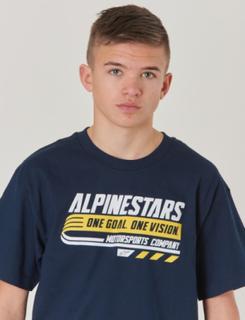Alpinestars, BRAVO TEE, Blå, T-shirt/toppe till Dreng, M