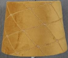 Velvet Diamond lampskärm 20 cm - Guld