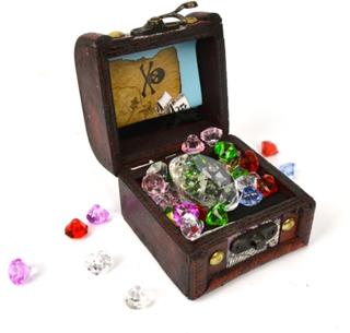Skattkista med diamanter - Robetoy