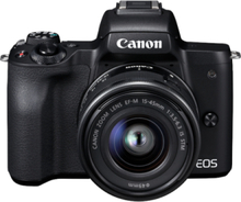 EOS M50 15-45mm IS STM - Black