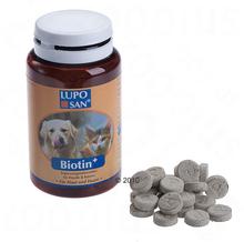 Luposan Biotiini koiralle & kissalle - noin 130 tablettia