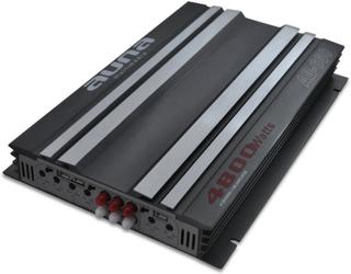 AB-650 6-Channel Car Hifi förstärkare 540W RMS bryggbar 4800W max.
