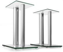 Ett par Auna högtalarstativ glas aluminium 31a3da6e6649a