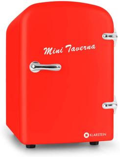 Bella Taverna kylskåp kyl-/varmhållningsbox mini 4 literröd