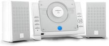 Vertical 70 stereoanläggning CD USB MP3 AUX vit