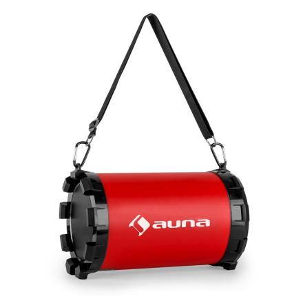 Dr. Red Boom 2.1-bluetooth-högtalare USB SD AUX batteridriven 20w max.