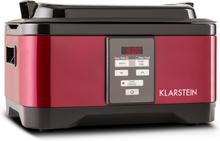 Tastemaker Sous-vide Slow Cooker Långsamkokare 6 l 550 W rostfritt stål röd