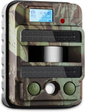 GRIZZLY MAX PIR viltkamera fotofälla 40 Black LEDs 8 MP HD USB SD 100°
