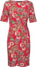 Dress Short Jersey Knelang Kjole Rød Betty Barclay