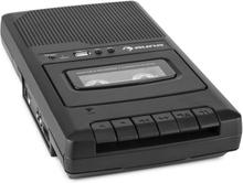 RQ-132USB portabel Kassettbandspelare Dikteringsapparat Tape Recorder Mikro USB