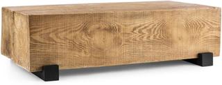 Blockhouse Lounge balkbord trädgårdsbord timmer-bord 120x30x60 cm