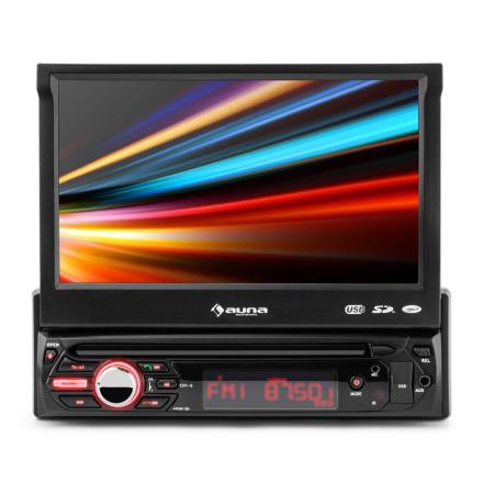 "MVD-310 Bilradio 17,8cm (7"")-Touchscreen Bluetooth USB SD UKW Front-AV"