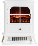 Klarstein St. Moritz elektrisk kamin 1850 W flamma