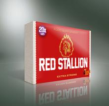 Red Stallion Extra Strong - 20 kaps-Erektionshjälp spara 12%