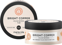 Maria Nila Colour Care Colour Refresh, 7,40 Bright Copper, Bright Copper 100 ml Maria Nila Färginpackning