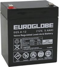 12V 5.4Ah (AGM) 90 x 70 x 101 Euroglobe