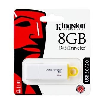 Kingston Generation 4 Data Traveler USB Stick - 8GB