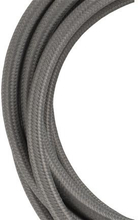 Bailey stoffen kabel 2-aderig grijs 3m