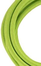 Bailey stoffen kabel 2-aderig groen 3m