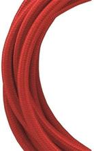 Bailey stoffen kabel 2-aderig rood 3m