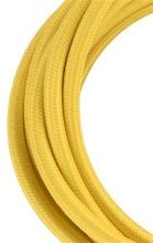 Bailey stoffen kabel 2-aderig geel 3m
