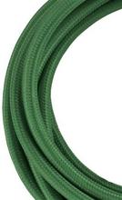 Bailey stoffen kabel 2-aderig donkergroen 3m