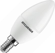 Sylvania   LED Kaarslamp   Kleine fitting E14   6,5W (vervangt 40W) Mat
