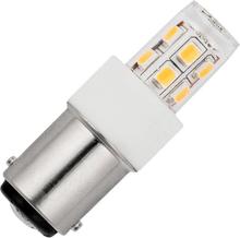 SPL buislamp LED 10-30V 2W (vervangt 20W) bajonetfitting BA15D
