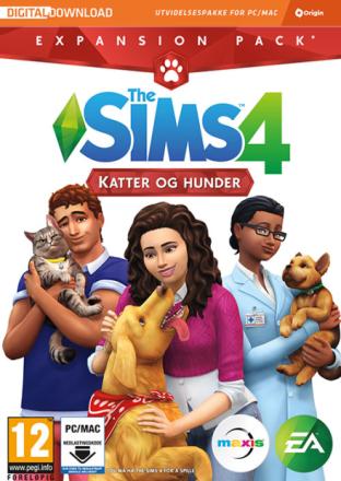 The Sims 4 Katter og Hunder PC Utvidelse til The Sims 4