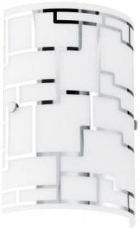 Bayman vägglampa (Förkromad/blank)