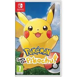 Pokémon: Let's Go, Pikachu! (Nintendo Switch) - wupti.com