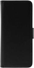 Konstläder fodral med tillhörande magnetskal Samsung Galaxy S9 3 kortfack svart