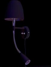 Anemon sänglampa (Vit)