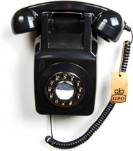 GPO 746 Väggtelefon, Svart