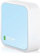 TP-Link TL-WR802N 300Mbps Kabellos N Nano Router - Weiß/Blau