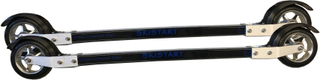 Skistart Fibreglass Skate Rullskidor Paket, Rullskida, bindning och rullskidstav.