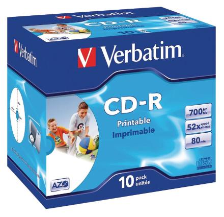 Verbatim - Cd-r X 10-700 Mb