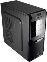 V3X Advance - Black - Chassi - Miditower - Svart