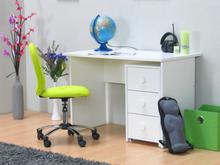 Marianne skrivebord med skuffemodul på hjul bredde 110 cm, højde 74 cm hvid.