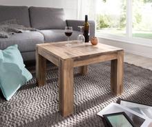 DELIFE Decoratieve-tafel Indra sheesham natuur 60x60 massief hout vierkant